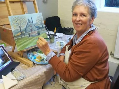 Afonwen Craft & Antique Centre - Gill Benjamin Artist _1