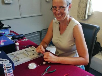 Afonwen Craft & Antique Centre - Jackie at Jewels Crafts (1)