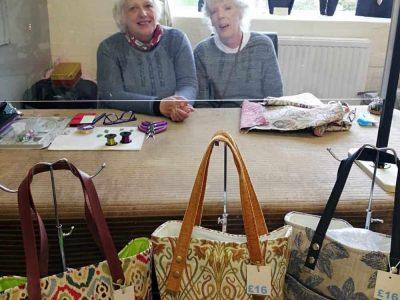 Afonwen Craft & Antique Centre - Liz and Elaine