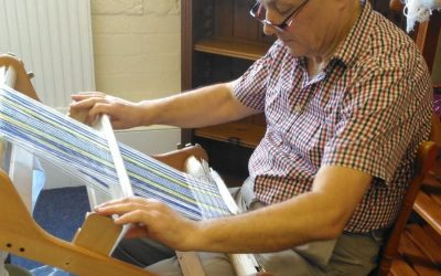 Afonwen Craft & Antique Centre - Trevor Blackwell - Traditional Weaving _1