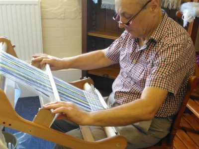 Afonwen Craft & Antique Centre - Trevor Blackwell - Traditional Weaving _1