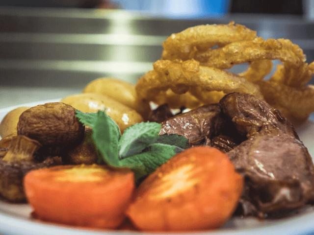 Edenshine Restaurant - Grilled Prime Welsh Local Rump Steak (680x)