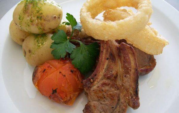 Edenshine Restaurant - Grilled Welsh Lamb Chops (680x)